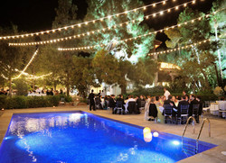 banquete piscina