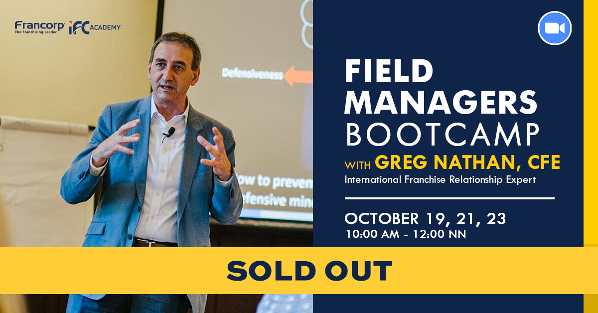 Field Managers Bootcamp with Greg Nathan (SOLD OUT)