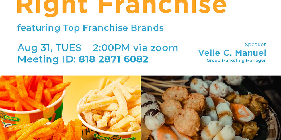How To Invest in The Right Franchise with Potato Corner & Samantha's Steamboat