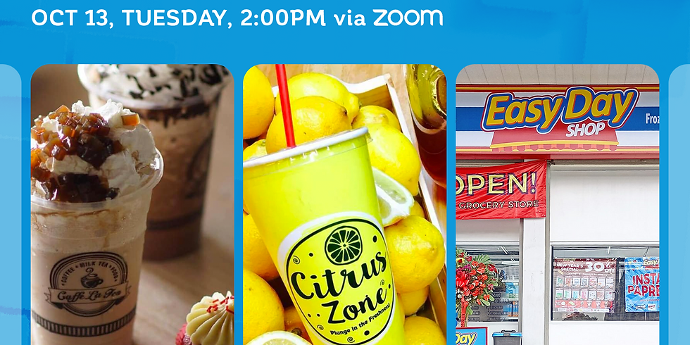 Free Franchise Webinar with Caffe La Tea, Citrus Zone and Easy Day Shop