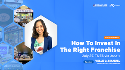 How To Invest in the Right Franchise Webinar with Papel na Liempo & Turks Shawarma
