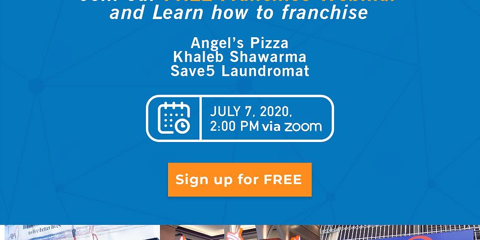 Franchise Discovery Day - Khaleb Shawarma, Angel's Pizza and Save5 Laundromat