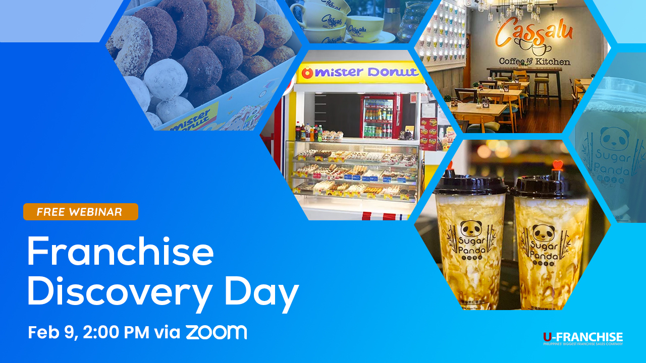 Franchise Discovery Day featuring Mister Donut, Sugar Panda & Cassalu Restaurant