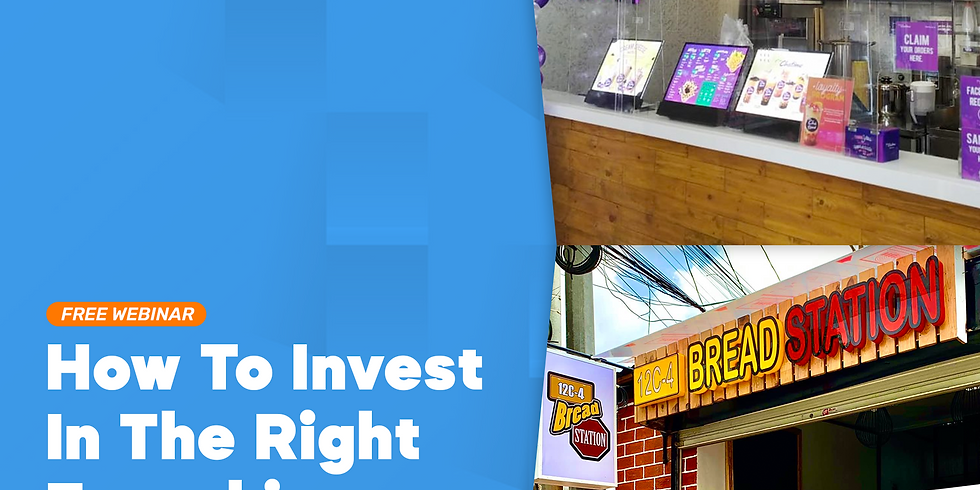 How To Invest in The Right Franchise featuring Chatime & 12C-4 Bread Station