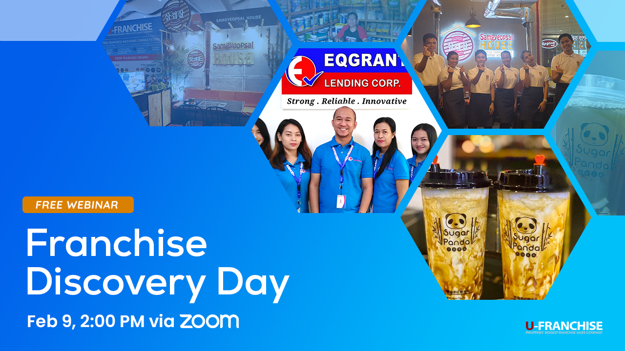 Franchise Discovery Day with Sugar Panda, EQ Grant Lending & Samgyeopsal House