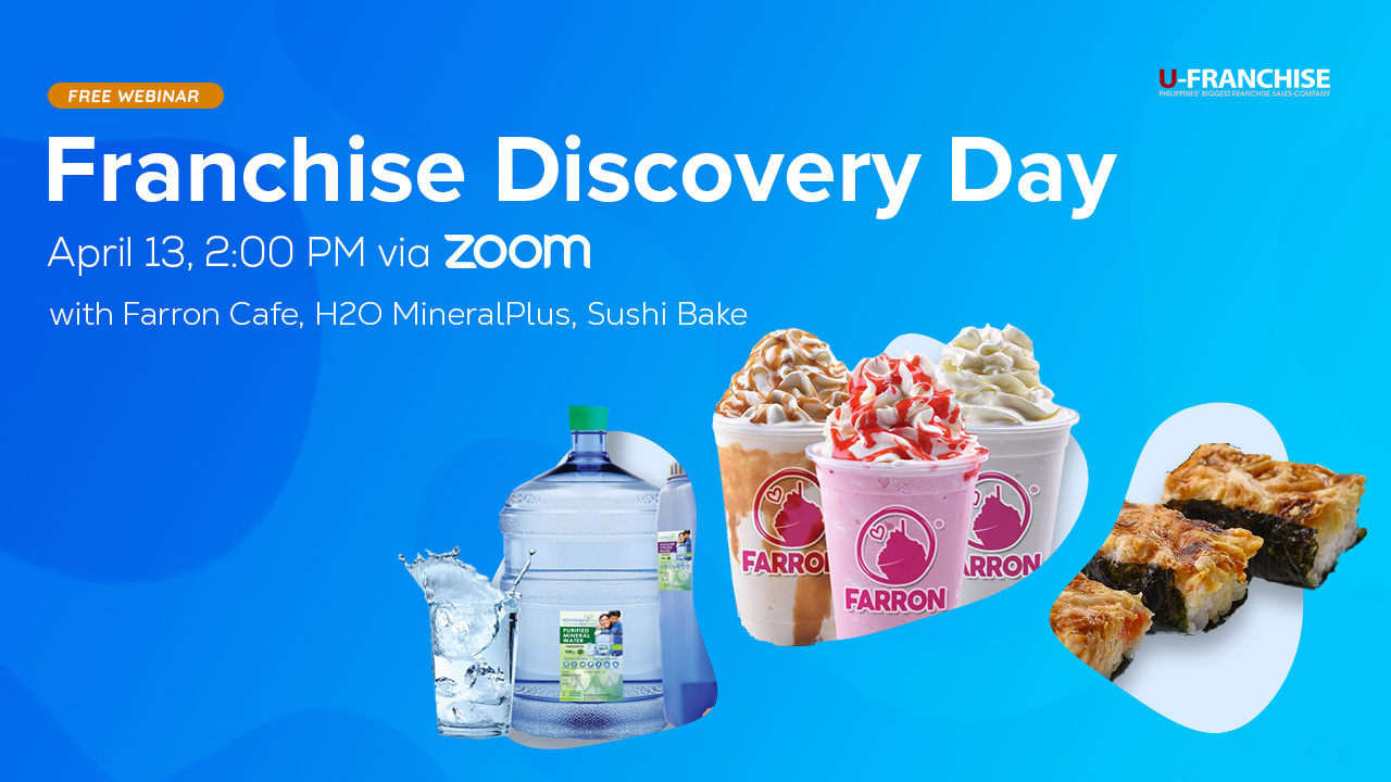 Franchise Discovery Day with Farron Café, H2O MineralPlus & Sushi Bake