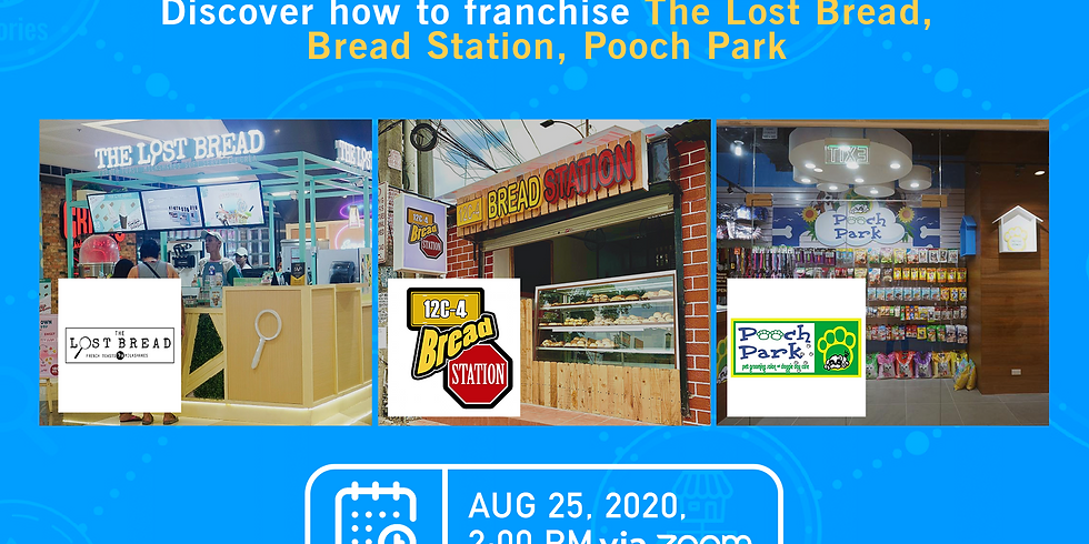 Free Franchise Webinar with The Lost Bread, 12C-4 Breadstation and Pooch Park