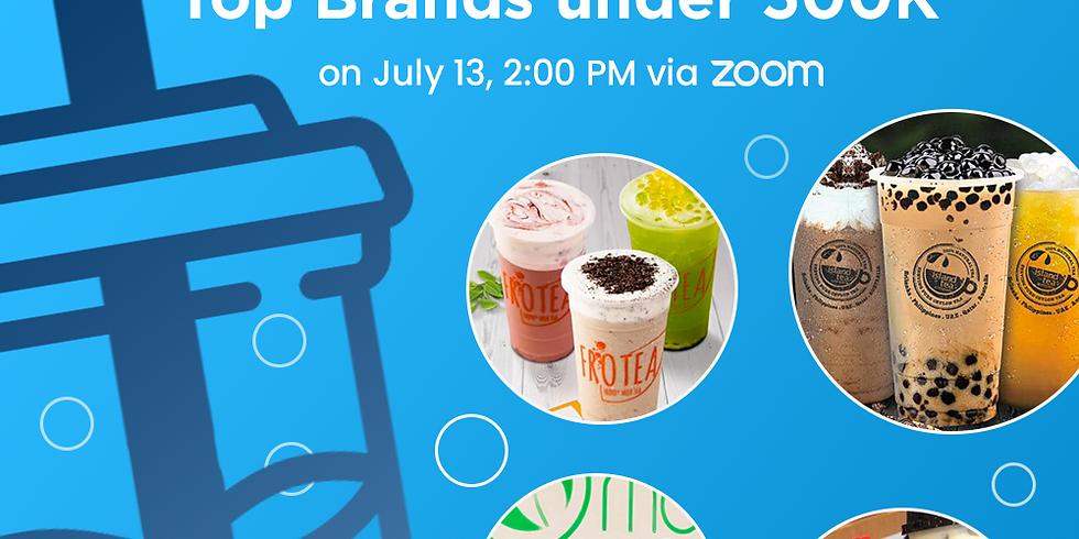 Milk Tea Festival — Top Brands under 500k: Free Webinar with Frotea, Island Tea, Moonleaf & Sugar Panda