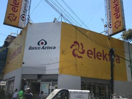 Elektra y Banco Azteca se amparan contra pruebas de covid-19 quincenales