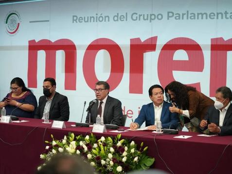 Entre reclamos electorales, senadores de Morena tienen encerrona con Mario Delgado
