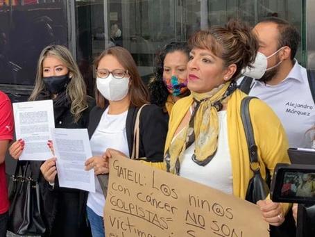 Padres de niños con cáncer denuncian a López-Gatell ante FGR por genocidio