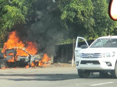 Enfrentamiento con armas de fuego se registra en Cintalapa y Frontera Comalapa