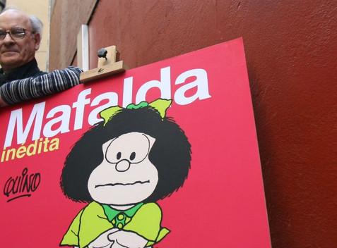 Quino, papá de Mafalda, muere a los 88 años. Su visión del mundo (y de AL) impactó a generaciones