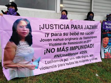Veracruz: Familiares de Jazmín, víctima de feminicidio, piden justicia