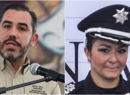 Interpol emite ficha roja contra Jesús Orta y Frida Martínez, dos extitulares de la Policía Federal