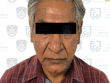 La FGJ-CdMx detiene a hombre que golpeó a mujer de 95 años es su hijo y ya está en el Reclusorio Sur