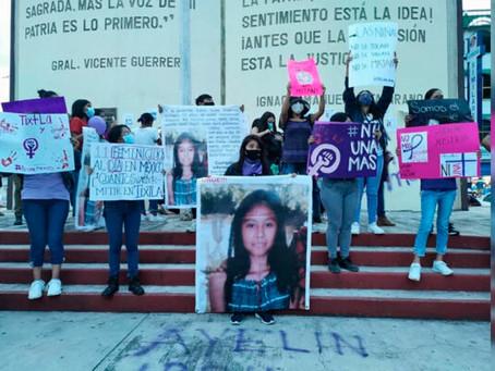 Ayelín, tenía 13 años, fue asesinada y su cuerpo localizado cerca de su casa en Guerrero