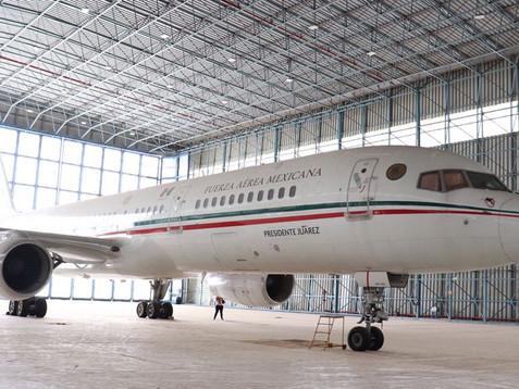 Gobierno de AMLO vende finalmente avión presidencial… pero el que usaba Felipe Calderón