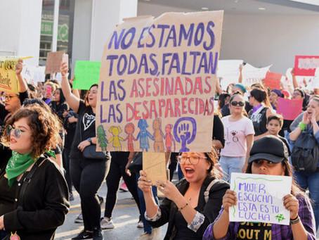 Chiapas: Reportan 46 muertes violentas de mujeres durante los primeros tres meses del 2021
