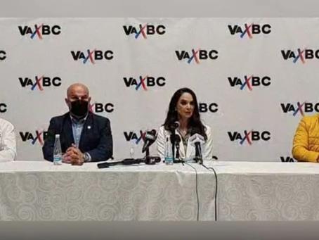 PAN, PRI y PRD presentan a Lupita Jones como su candidata en BC