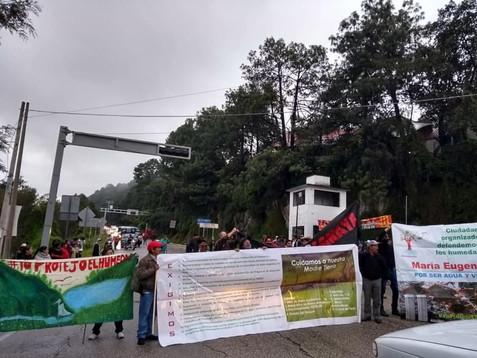 Destrucción ambiental de San Cristóbal continua durante la pandemia