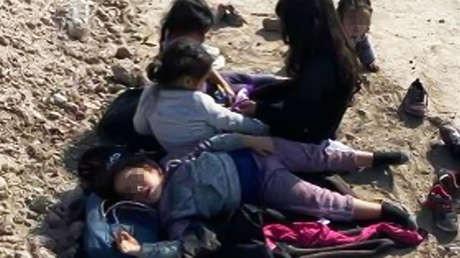 Un granjero de Texas encuentra a cinco niñas migrantes abandonadas y hambrientas en sus tierras