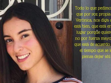 """Denuncian desaparición de Verónica; la obligaron a internarse para """"corregir su orientación sexual"""""""
