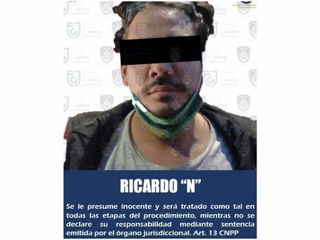 """Detienen a """"Rix"""", youtuber acusado de abuso sexual contra Nath Campos"""
