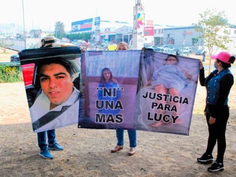 Piden justicia para Lucy, víctima de intento de feminicido, exigen que Fiscalía tome denuncia