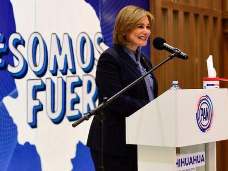 Candidata del PAN al gobierno de Chihuahua recibió sobornos de Duarte por 10.3 mdp, acusa Fiscalía