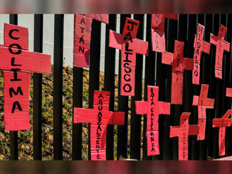2019, el año que registra más casos de violencia feminicida, fueron cerca de 4 mil casos