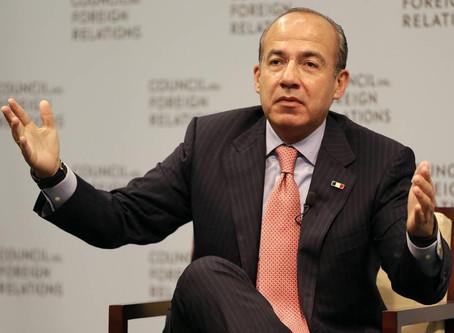 "Senador de Morena falleció de Covid-19 por ""un capricho presidencial"": Calderón"