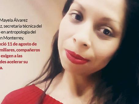 ¿Dónde está Mayela?, familia pide ayuda para hallar a académica de NL desaparecida hace ya 3 meses