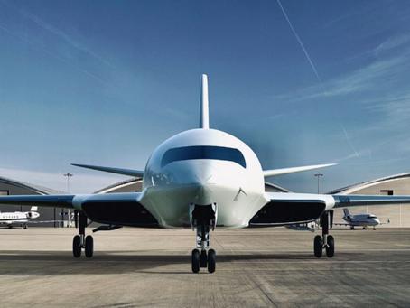 Así es el Eather One, el avión eléctrico que podría funcionar gracias a la fricción durante el vuelo