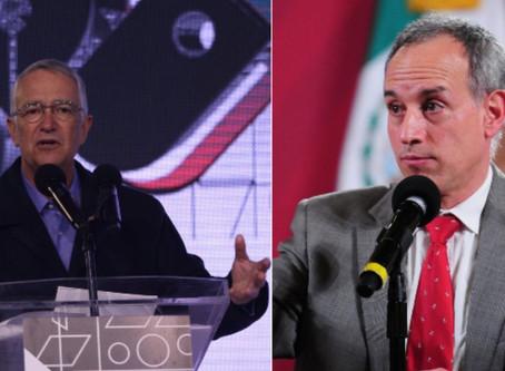 TV Azteca, de Ricardo Salinas, se lanza otra vez contra Gatell y la 4T: pide abrir clases presencial