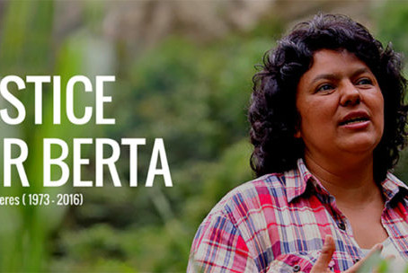 Suspenden juicio por el asesinato de Berta Cáceres