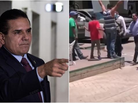 Profesor agredido por Silvano Aureoles dice temer por su vida; pide que AMLO le dé protección