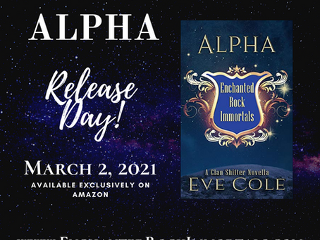 #ReadAcrossAmerica and Alpha's Release Day!