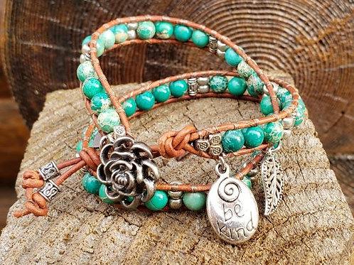 Double Wrap Bracelet #3