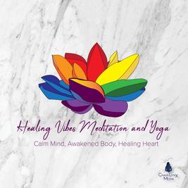 Healing Vibes Meditation and Yoga Logo