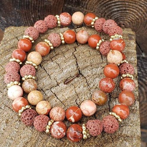 Red-Orange Agate Diffuser