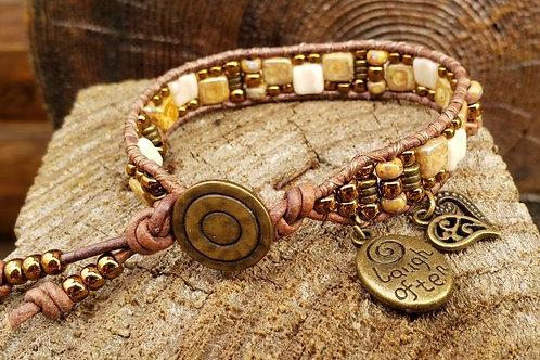 Czech Tile Bracelet #6
