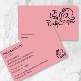 The Hair Boutique Business Cards