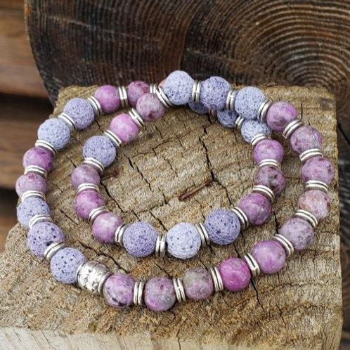 Purple River Stone Diffuser