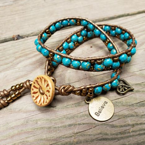 Double Wrap Bracelet #1