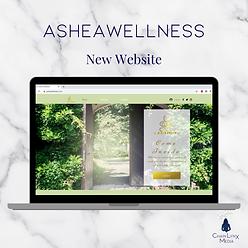 Asheawellness website
