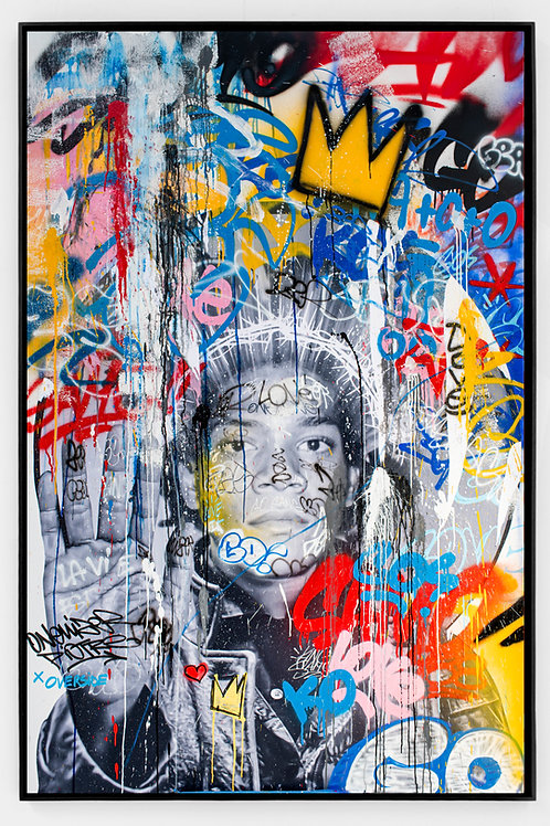 Overside x Onemizer x Piotre - Basquiat