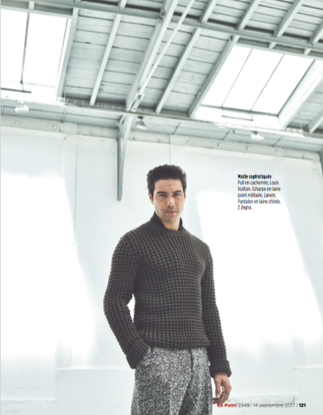 Shooting Photo Tahar Rahim & Le Point           @ Galerie Turenne 75004 - Paris