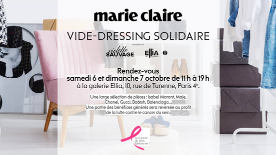 Marie-Claire x Violette Sauvage x Ellia Art Gallery