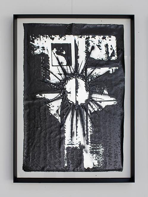 Overside - Morceau de toile - Signature Overside - Noir